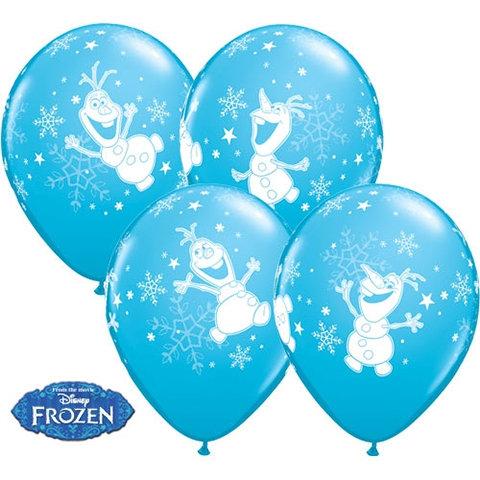 """11"""" Blue Olaf Balloons!"""