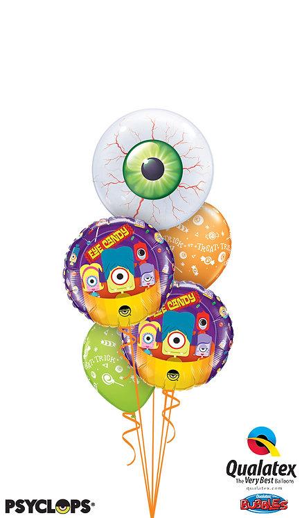 Scary Eyeball Bubble Bouquet