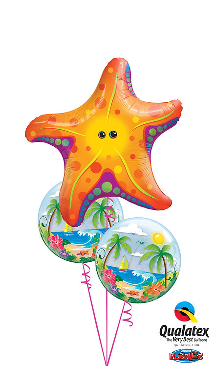 Sea Star with Bubbles Bouquet!