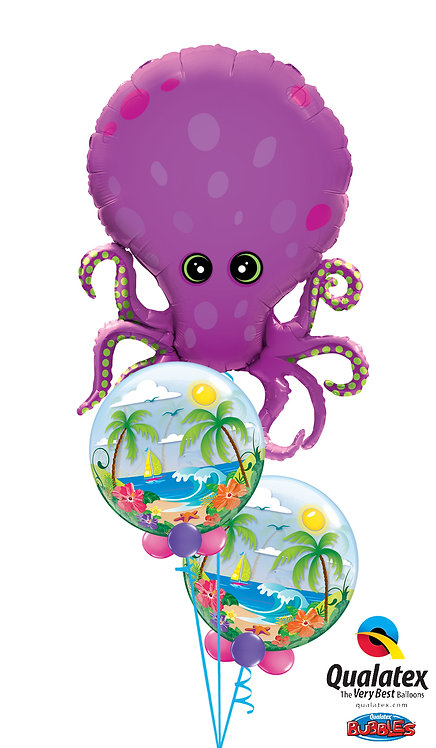 Octopus with Bubbles Bouquet!