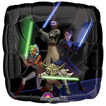 """18"""" Star Wars Clone Wars Foil"""