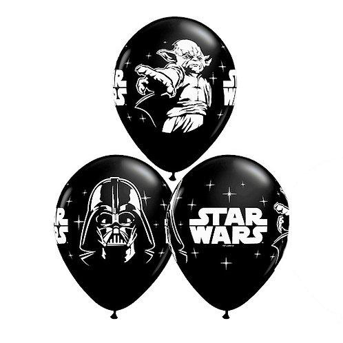 """11"""" Star Wars Yoda and Darth Vader Assort."""