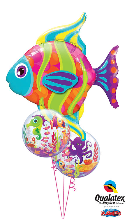 Tropical Fish with Bubbles Bouquet!