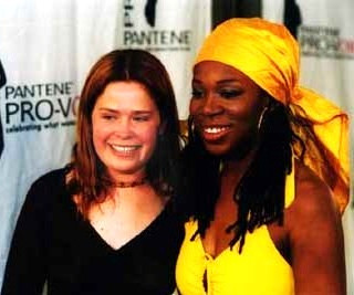 With India.Arie at a Pantene Pro-Voice event