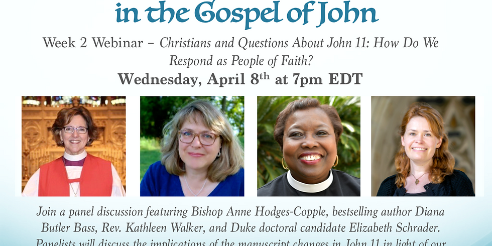 Exploring Manuscript Changes in the Gospel of John (Week 2)