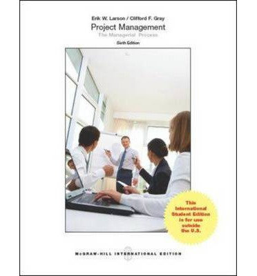 Project Management - The Managerial Process