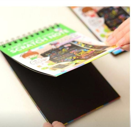 Scratch & Sketch Activity Book