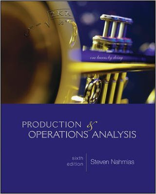 Production & Operations Analysis