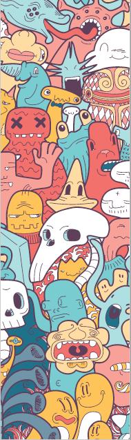 Monster Doodles I