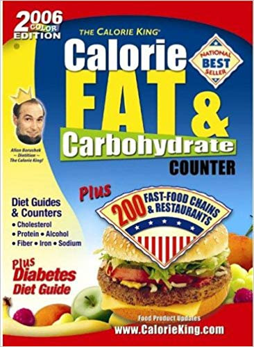 The Calorie King: Calorie, Fat & Carbohydrate Counter