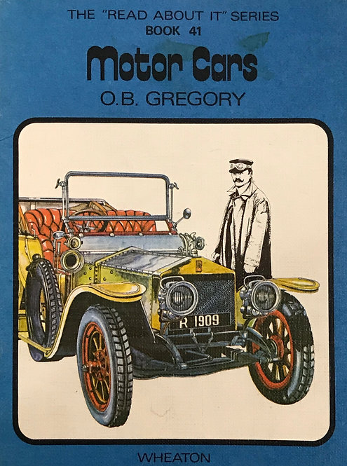 """The """"Read About It"""" Series - Book 41 - Motor Cars"""