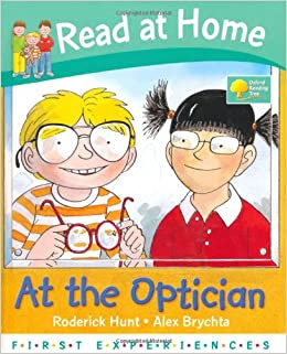 Read at Home: At The Optician