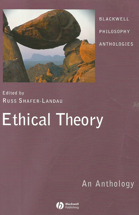 Ethical Theory: An Introduction