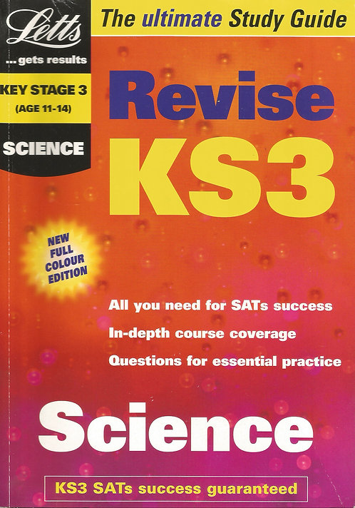 Letts... Get Results: Revise KS3 - Science