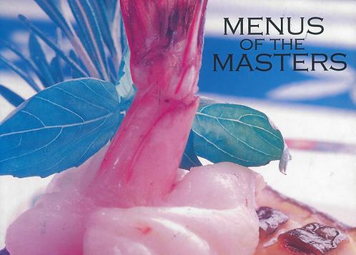 Menus of the Masters