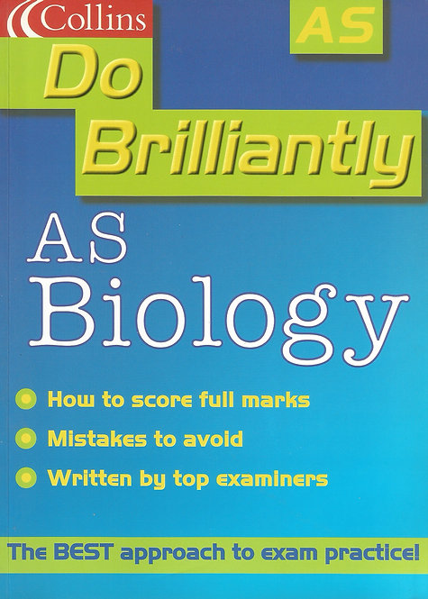 Collins: Do Brilliantly - AS Biology