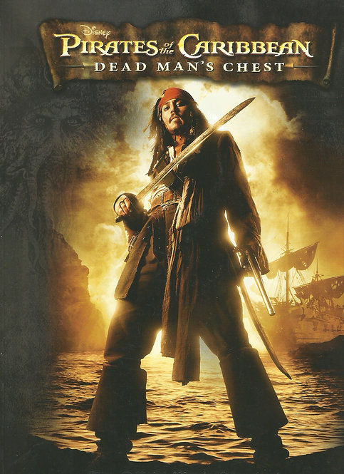 Pirates of the Caribbean Official Movie Storybook: Dead Man's Chest