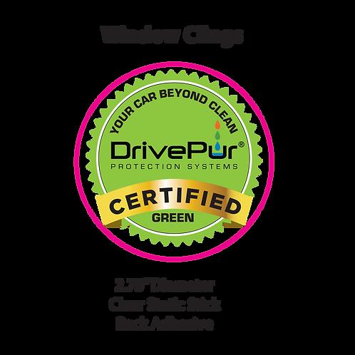 DrivePur Window Clings