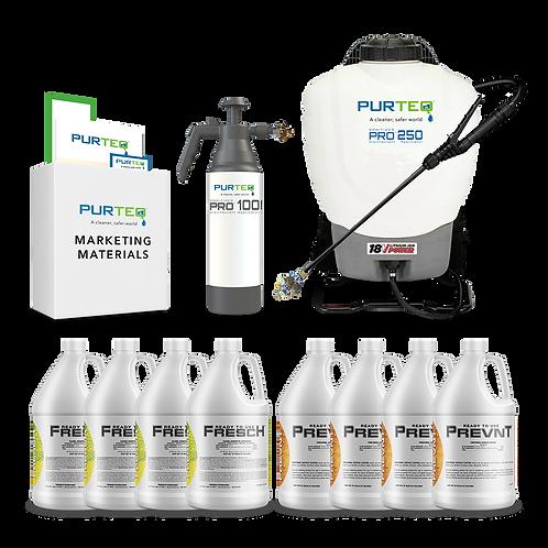 Starter Kit - Sanitizer Pro Option
