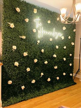 Flower Wall Rental NJ
