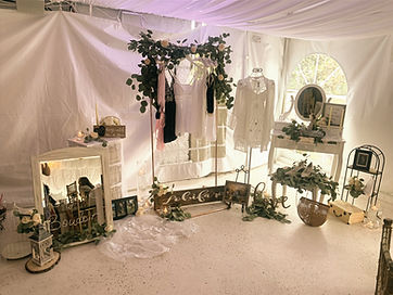 Bridal Shower Boudoir Display