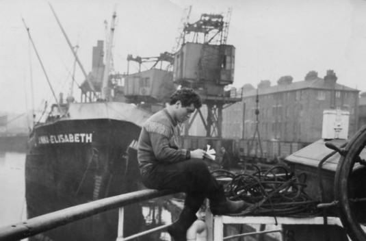 René Heusequin. Port of Ostend.