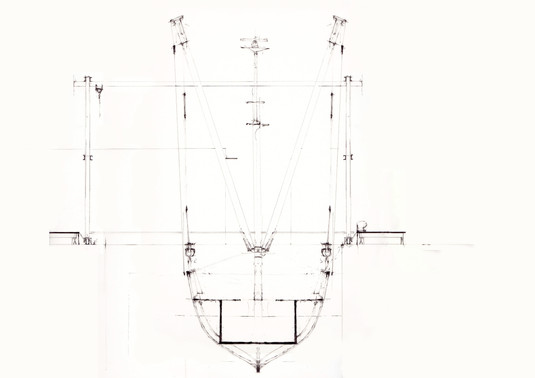 Ship, section.