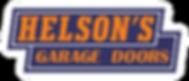 Helson's Garage Doors Logo