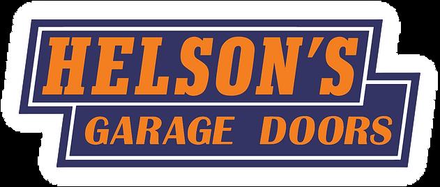 Helsonu0027s Garage Doors Logo