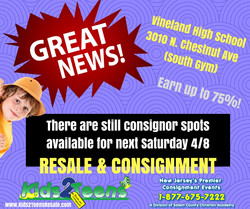 news flash for 4_8 consignors