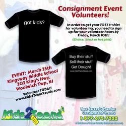 volunteer tee shirt