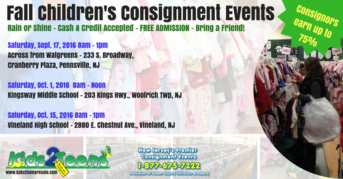 Fall Children's Consignment Events