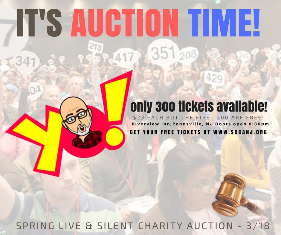 it's auction time!