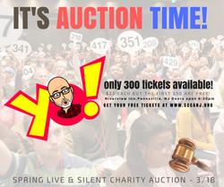 it's auction time!