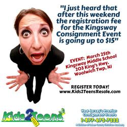 reg fee going up! 3-8-17