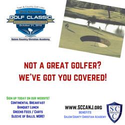 not a great golfer_