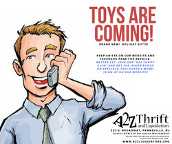 toys are coming
