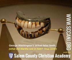 george washingtons teeth