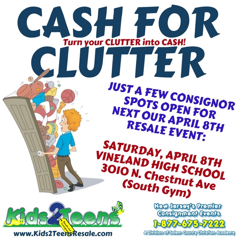 CASH FOR CLUTTER