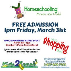 homeschool shopping pensville 3-17