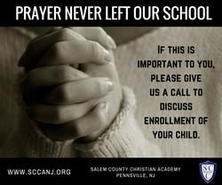Prayer Never Left