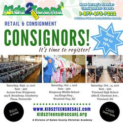 Be a Consignor K2T