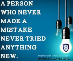 Never made a mistake_