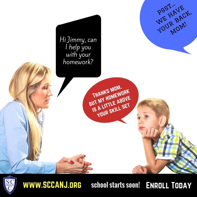 SCCA - Homework mom