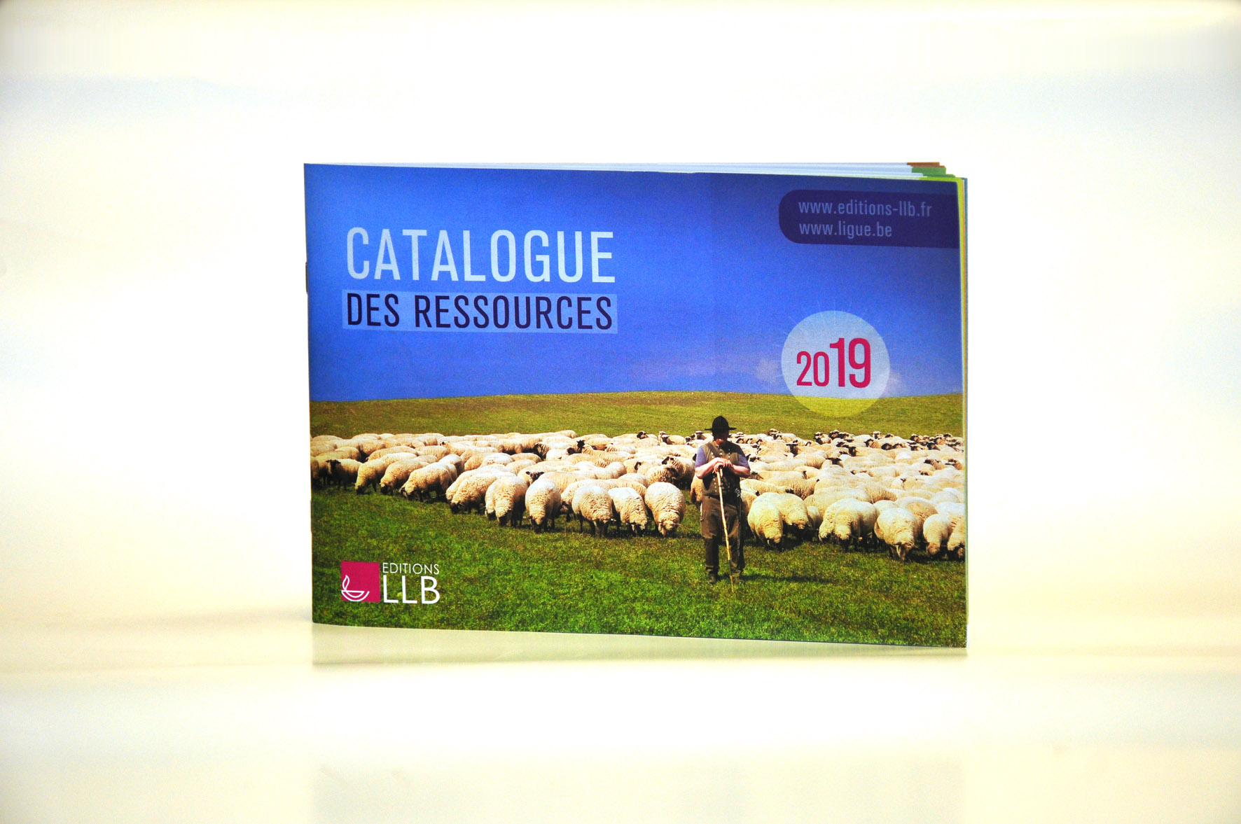 Catalogue agrafé