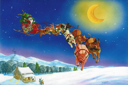 It's A Merry Christmas When Pigs Fly
