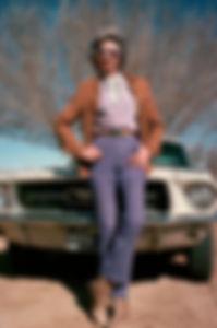 """Velma Johnston, aka """"Wild Horse Annie"""""""