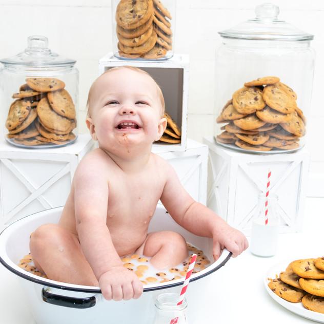Jackson Davis | Cookie Milk Bath