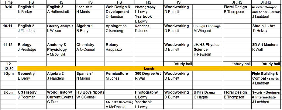 2021 - 2022 HS Grade Schedule.JPG