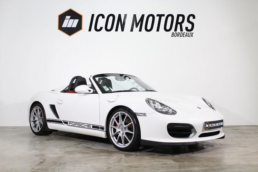 Porsche boxster spyder 3.4 320